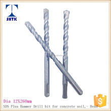 High quality of SDS hammer Drill Bit for Concrete, Drill Bit, Dia 12X260mm