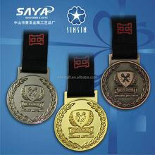 custom made metall schule medaille