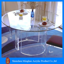 Living room furniture acrylic pool table / acrylic dinning table