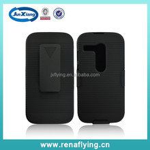 Latest hard plastic belt clip with stand phone case for Motorola XT1032 China wholesale