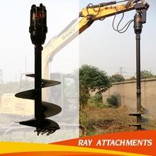 Auger Drive Unit, Post Hole Digger, Auger Attachment