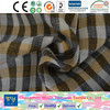 fashion shirt garment yarn dyed cotton 32s yellow check quilt double face fabric goods from china changzhou