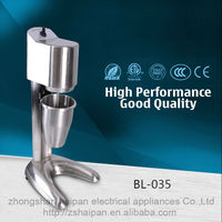 High / low speed control double cup drink shaker small milk shake mixer machine