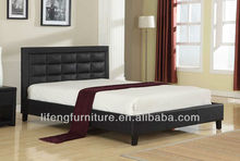 Living room furniture home furniture Leather bed