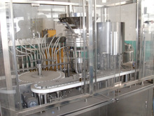Syrup filling production line