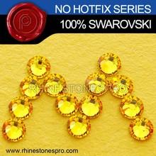 Hot Sale Swarovski Elements Light Topaz (226) 7ss Flat Back Crystal Stone