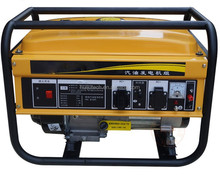 CE approved hand start, motorcycle muffler, low noise, honda engine,, home use, 3000w gasoline generator HJ-G3000