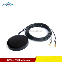 Factory price high gain GPS/GSM navigation 2 in 1SMA combined antenna for track system