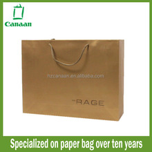 Designer cheap brown paper grocery bag size
