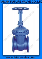 DIN F5/F7 SERIES RISING STEM GATE VALVE