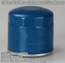 2015 top quality China manufacturer Applicable for HYUNDAI OEM 26300-35503 engine Oil filter