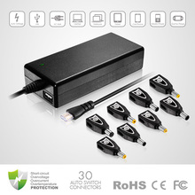 new things for sell, 90W Universal Laptop AC Adapter With 5V 2.3A USB output, with Crystal head
