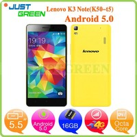 lenovo k3 note mobile phone android 5.0 phones MTK6752 64Bit Octa Cores 5.5 inch mobile phone 2G 16G
