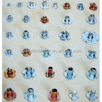 Furniture hardware T-Nuts for sofa/bedding, guangdong supplier