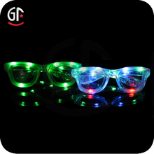 Party Items From China Fashionable Safety Glasses With Led Flashlight