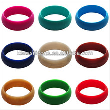Fshion unfinished wooden bangle new style silicone bracelet