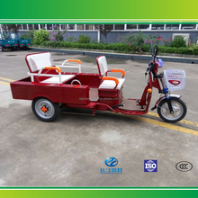 Passenger and cargo double use three wheel electric bicycle made in China
