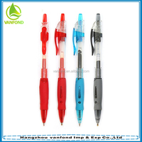 Promotional cheap best writing plastic advertising ball pen