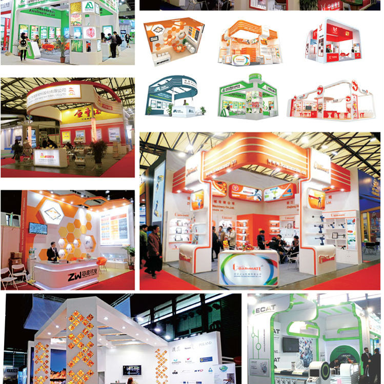 Wooden Expo Stands For : Exhibition design solution shell scheme ideas