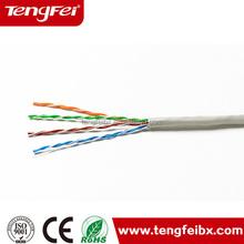 0.40mm-0.5mm CCA UTP Cat5e Network Cable PVC Wire pvc cat5e copper wire
