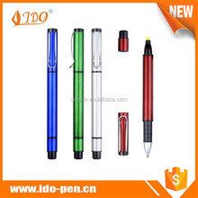 Wholesale low price high quality twist gel highlighter pen