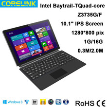 2015 dual boot 10.1'' tablet Win 8.1+Android 4.4 tablet pc with Intel Baytrail-T(Quad-core ),Z3735G/F