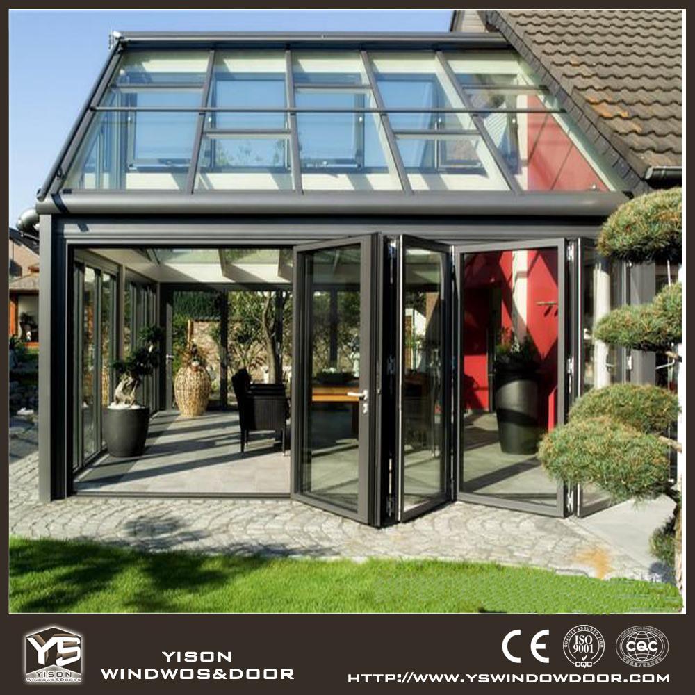 Top grade aluminum glass garden room design for garden for Glass garden office