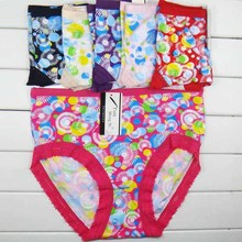 factory price cheap free size panty milk fiber intimates panties with fashion printing