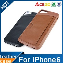 2015 hot sale for iphone 6 leather case, for iphone case
