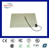 Taiwan rectangle Shaped Heating Frame polyester heater Heating Pad