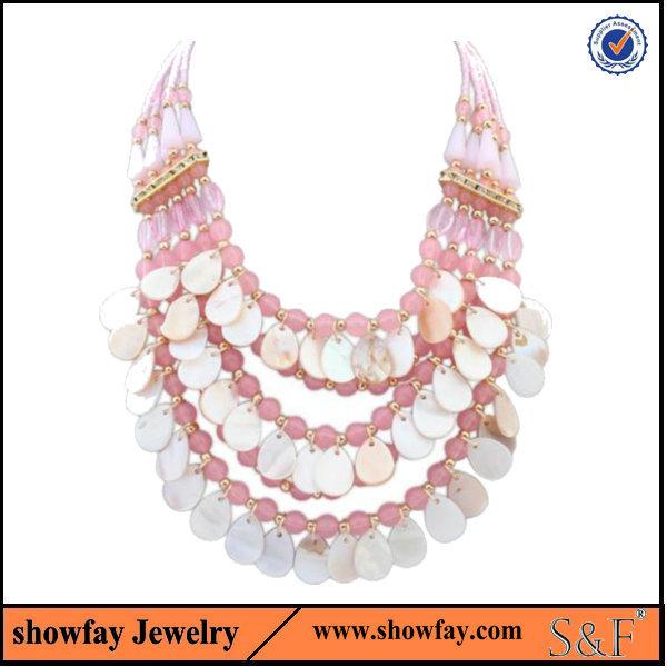 2015 Factory OEM statement Jewelry popular bead necklace