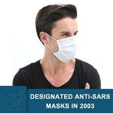 Germany PP material Physical inactivation anti-Ebola Antiviral Face Mask/excellent filtering bacteria