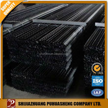 Hot sell 2015 new products black painted Star picket