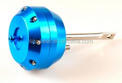 Racing Car Turbo blow off valve/blue auto turbocharger wastegate actuator,turbocharger parts turbo actuator
