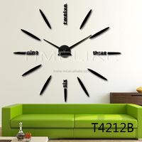 100CM Big Decorative morrior Diy wall Clock for Home Decor