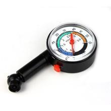 2015 Auto Motor Car Bike Tire Air Pressure Mini tyre Gauge Dial Meter Vehicle Tester car diagnostic tools Free Shipping