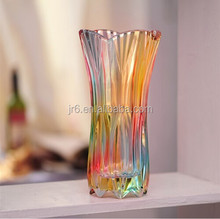 Wholesale Different Types Tall Glass Vase For Flower Arrangements