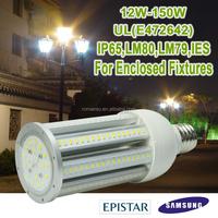 360 degree UL cUL us listed 5 years warranty IP65 e26 e40 50w led corn light