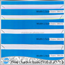 2015 high quality jacquard elastic webbing