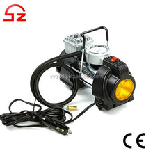 2015 New battery powered 12v tire air pump with light