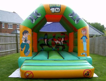 New designed cartoon jumping bouncer inflatable jumper scooby doo bouncy
