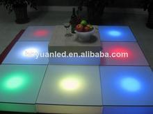 venta caliente portátil led pista de baile de la lámpara