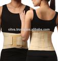 la parte posterior elástico lumbar estabilizador de soporte abrazadera de alivio del dolor para envolver la fijación de columna