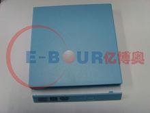 USB Optical Drive bay light blue color ebour002