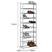 Can hold 30 pairs factory price metal folding display stand shelf/rack for shoes