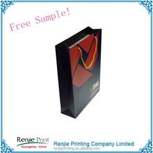 Custom Handle Apparel Packaging Paper Bag