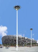 galvainzed alumnium powder coated high mast light pole