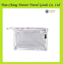 Wholesale Red Transparent Makeup Bag, Make Up Bag, PVC Cosmetic Bag