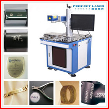 steel ring electronics chips instrument fast speed optical fiber laser marking machine for metals