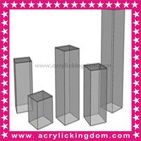 Clear Acrylic Display Pedestals